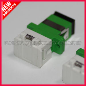 SC Shuttered Fiber Optical Adapter pictures & photos