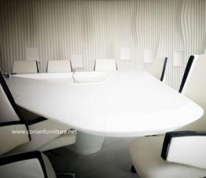 Office Made to Size Corian Acrylic Solid Surface Conference Table pictures & photos