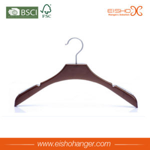 Luxury Wooden Coat Hanger with U Notches (STET0106) pictures & photos