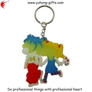 Cartoon Shape Soft PVC Keyring Key Holder (YH-KC028) pictures & photos