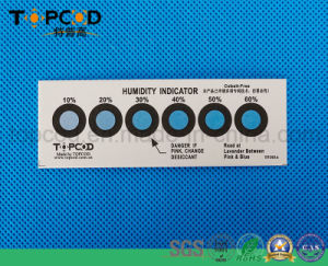 Cobalt Halogen Free RoHS Normal Blue Humidity Indicator Card pictures & photos