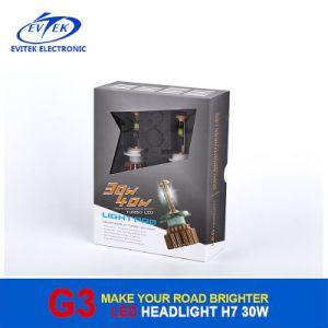 V16 Turbo Fan LED Headlamp 30W 3000lm H7 CREE Car Auto LED Headlight 6000k pictures & photos