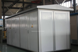 Factory European Type Power Distribution Box Transformer 11kv Substation pictures & photos