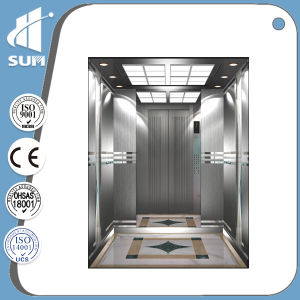 Speed 1.0m/S Mirror Stainless Steel Passenger Elevator pictures & photos