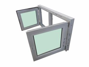 UPVC Double Glazing Casement Window for Home pictures & photos