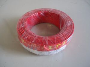 Single Core PVC Insulated Copper Wire for Household Use pictures & photos