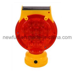 Solar Waterproof PC LED Strobe Light Road Safety Blinker Light pictures & photos