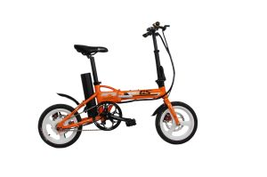 GS-001 14 Inch Foldable Aluminum Alloy Mini Electric Bike E-Bike