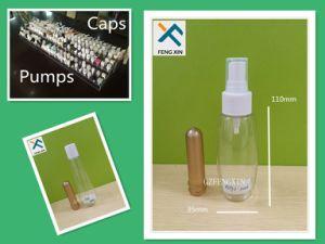 60ml 80ml 100ml Clear Liquid Pet Plastic Bottle and Mist Sprayer pictures & photos