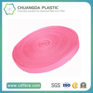 600d Pink Polypropylene Webbing for Make Bag pictures & photos