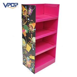 4c Cmyk Printing Shelf Display Racks for Gift Display