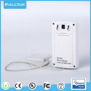 Z-Wave Wireless Vibration Detector with Alarm System pictures & photos