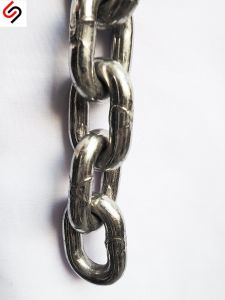 DIN763 Stainless Steel Link Chain-Diameter 4mm pictures & photos