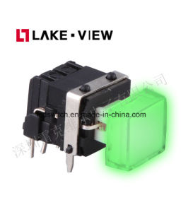 Audio Video Pushbutton Switch with on off Actuator Illuminated for All Broadcast Panel Needs pictures & photos
