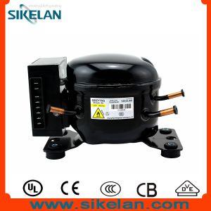 Good Quality R600A DC Compressor 12V/24V Refrigerator Compressor Freezer/Fridge Compressor Solar/Battery Compressor Qdzy75g pictures & photos