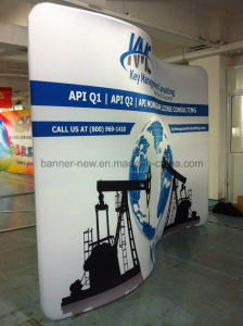Tension Fabric Portable Exhibition Stand, Display Stand, Banner Stand (KM-BSS5) pictures & photos