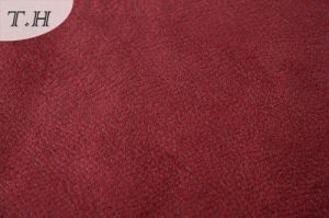 400GSM Red Furniture Fabric for Sofa Packing in Roll pictures & photos