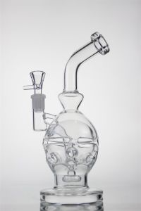 Glass Smoking Pipe Newest and Best Quality Glass Recycler Colorful pipe High Quality pictures & photos