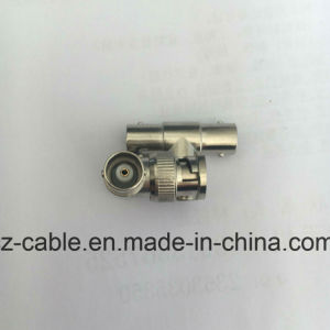 RF Coaxial Connector, BNC Male to Double BNC Female pictures & photos