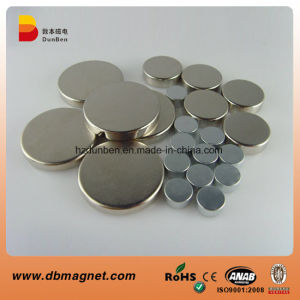 N35 Strong Neodymium Cylinder Magnet Disc Magnet pictures & photos