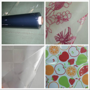 PVC Vinyl Plastic Soft Glass Table Cloth pictures & photos