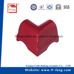 Building Roofing Corrugated Wave Type Clay Roofing Tile Made in China pictures & photos