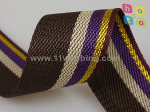 1-1/2 Inch Colorful Striped PP Polypropylene Webbing for Bag pictures & photos