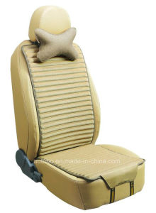 Car Seat Cushion Flat Shape Double Sides Use with Flax and Velvet-Brown pictures & photos