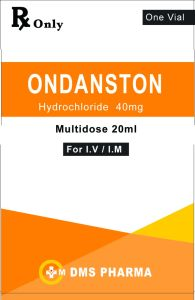 Human Medicine for Infusion Ondansetron Hydrochloride injection Multidose 20ml Vial pictures & photos