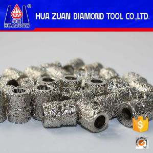 Electroplated Diamond Wire Beads India for Cutting Marble pictures & photos