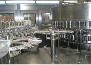 Automatic 14-60 Heads Bottle Washing Filling Capping 3-in-1 Machine pictures & photos