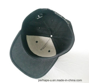 100%Cotton Snapback with Custom Embroidery Logo pictures & photos