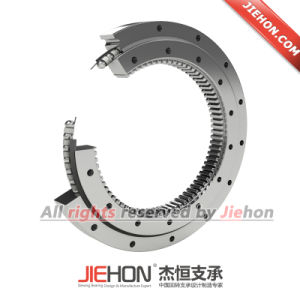 Excavator Grapple Application Slewing Bearing with Internal Gear pictures & photos