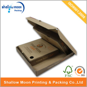 Customized Printing Cardboard Pizza Packaging Box (QYCI1503) pictures & photos
