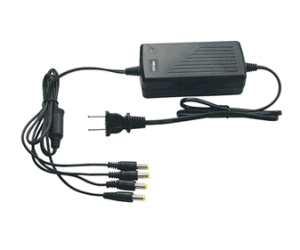 4 CH 75W 15V Power Adapter for Poe Function
