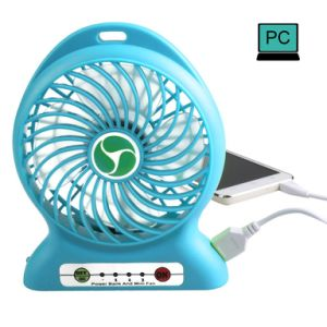 Handheld Portable Mini Fan [with LED Lamp] Powered by Rechargeable Lithium Battery[Additonal Function as Power Bank] or USB Wire Provided Ideal pictures & photos