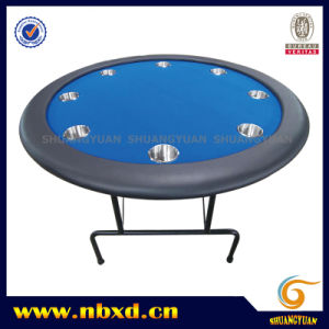 Round Poker Table with Iron Leg (SY-T01) pictures & photos