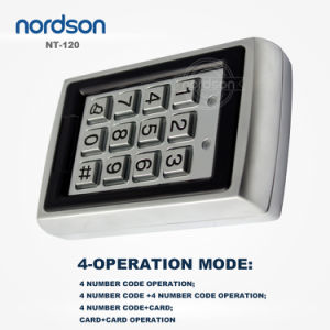 Waterproof Metal Standalone RFID Card Door Access Control System with Keypad pictures & photos
