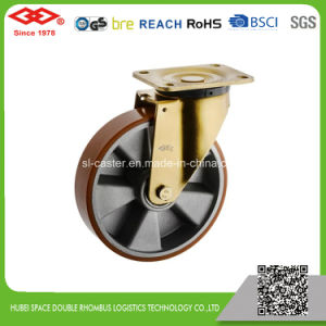 5 Inch Swivel Braked Rubber Industrial Castor (P160-73F125X50) pictures & photos