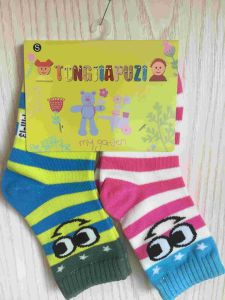Quarter Cotton Cartoon Medium Size Baby Socks (JMBABY-M) pictures & photos