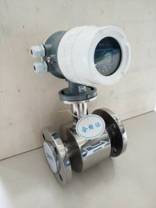 Gas Tubine Flow Sensor, Water Intelligent Flowmeter pictures & photos