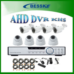 Half Indoor Half Outdoor Mix CCTV Ahd Camera DVR System