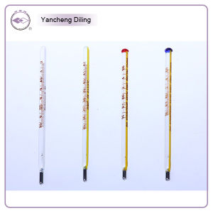 Rectal Thermometer, High Quality Glass Mercury Clinical Thermometers, Triangular Prism Thermometer pictures & photos