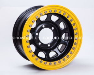 4X4 SUV off Road Real Bead Lock Steel Wheel Rim pictures & photos