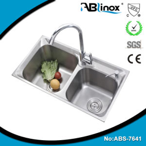Stainless Steel Handmade Kitchen Sink ABS7641 pictures & photos