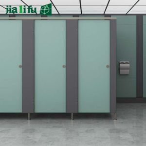 Jialifu Factory Direct Sale Pink HPL Bathroom Partition pictures & photos
