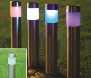 Stainless Steel Lawn Lamp Solar Garden Lights Garden Lights Light Outdoor Decorative Lamp Lamps Inserted Path pictures & photos