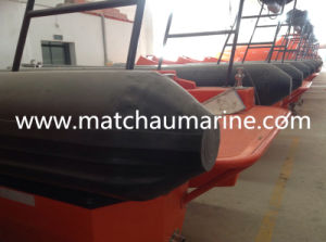 Marine Solas FRP Ramp Launching Inboard Engine Fast Rescue Boat pictures & photos
