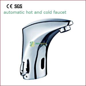 Automatic Sensor Faucet Brass Faucet Electrical Faucet Bathroom Faucet pictures & photos