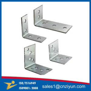 Custom Galvanized Steel Metal Reinforced Angle Brackets pictures & photos